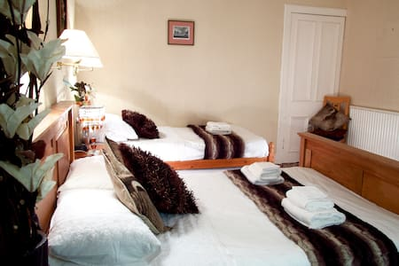 2.Double + single bed Inverness B&B with breakfast - Inverness