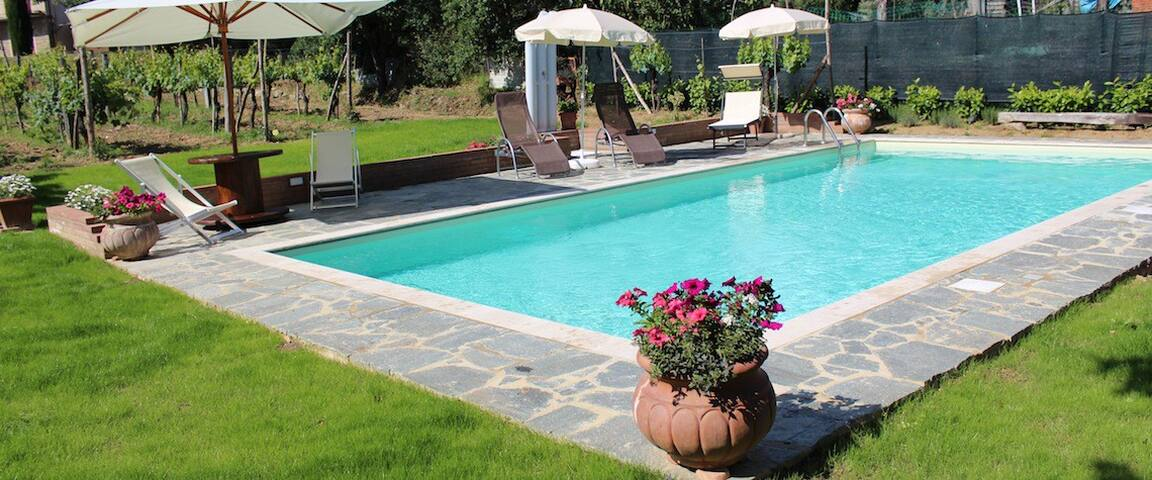 Tuscany,  Garden Apartment  & Pool  - Castiglion Fiorentino - Apartment