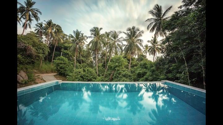 Family&Friends Villa 2 chambre et piscine privée