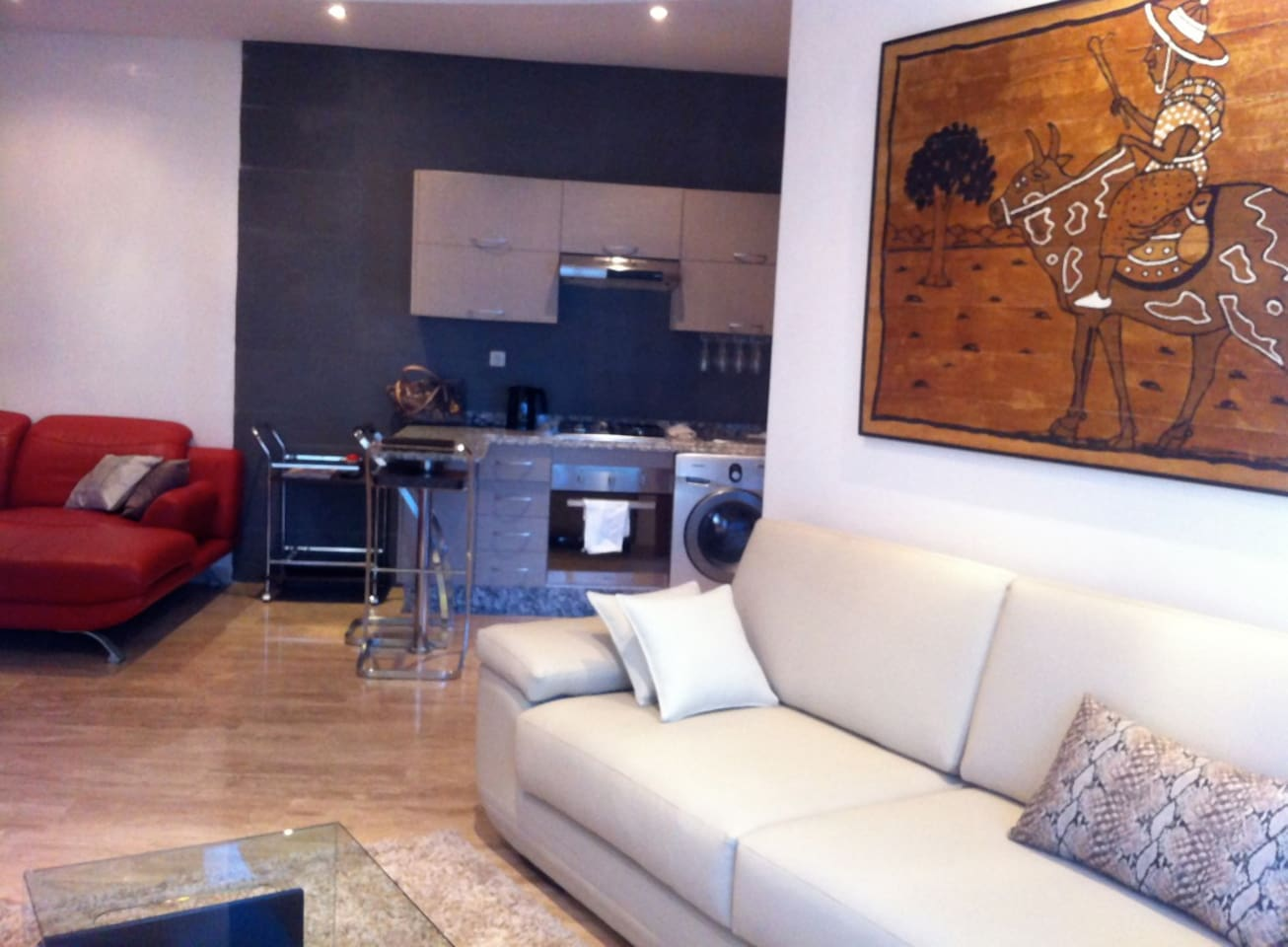 Luxueux Appartement Moderne Apartments For Rent In Casablanca  # Meubles Tv Okay