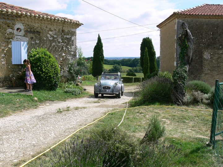 Gîte 3 épis with heated swimming pool in Gascony