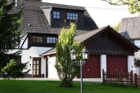 Ilonkas Oase 2-Etagen-Haushälfte - Roßbach - Huoneisto
