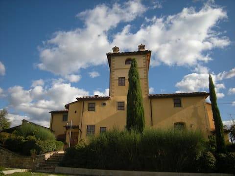Sant'Angelo Tower in Chianti