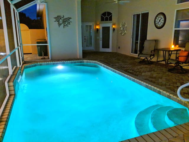 Poolside Cabana - 4.5 miles to the beach