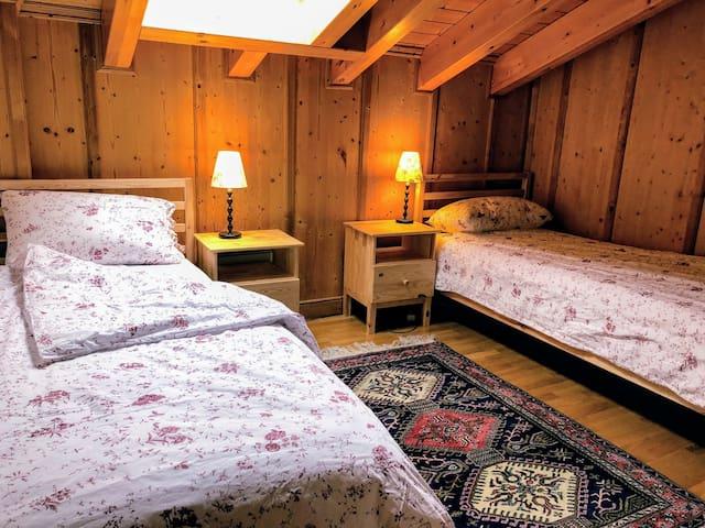 Bedroom 1 on the Second Floor