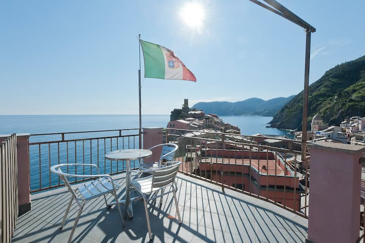 The best view in Vernazza.