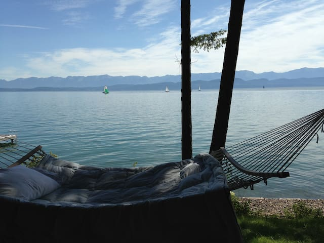 Flathead Lakefront Suite for 2 - Lakeside - Departamento