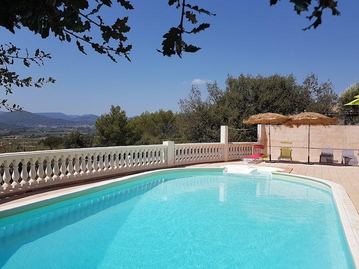 Maison avec piscine proche de Hyères et Toulon