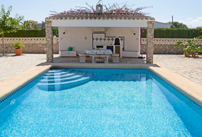 FANTASTIC VILLA CLOSE TO THE BEACH - Els Poblets - Talo