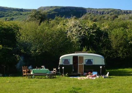 Burren farm camping - Carron - Wohnwagen/Wohnmobil