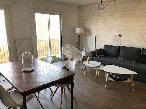 Apartment St Nazaire 5 min walk to the sea