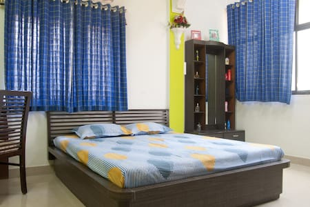 Quiet, private room near airport - Mumbai - Leilighet