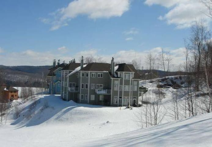 Ski in ski out 3 bedrooms condo - Mansonville - Wohnung