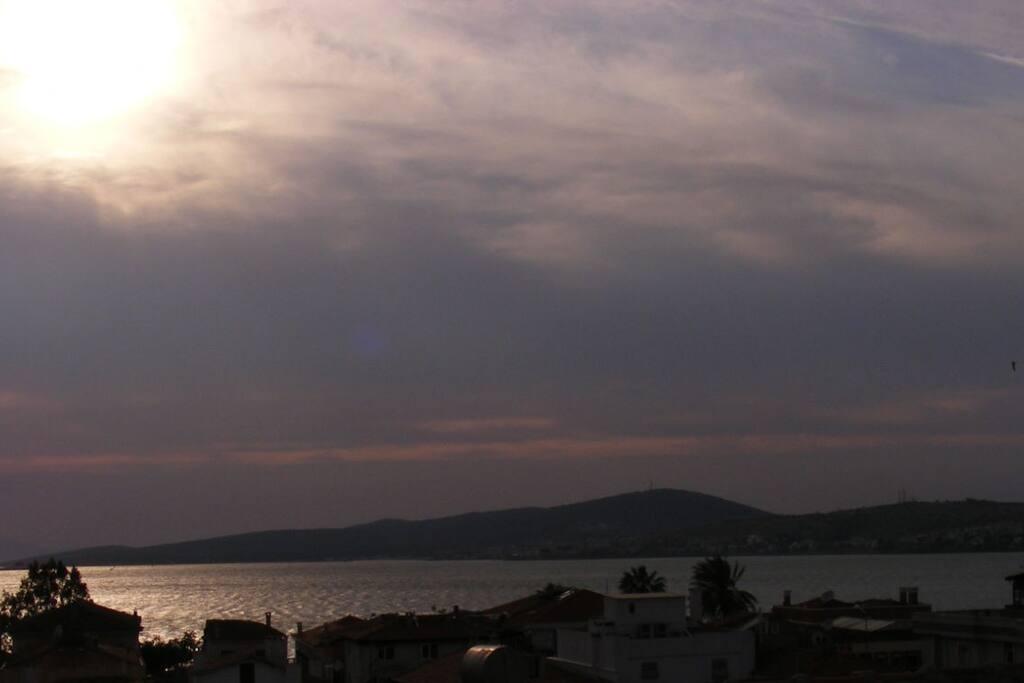 Teras Manzarası / View From Terrace