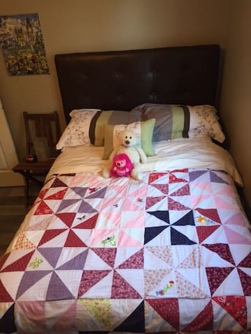 Double Bed located upstairs