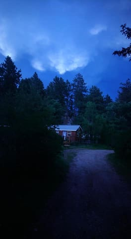 Twilight Cabin View