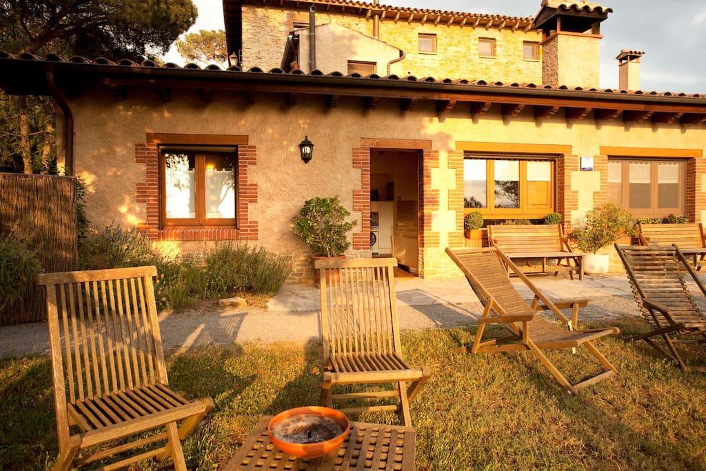 Casa rural amb encant maisons louer taradell - Cases rurals amb encant ...