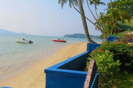Spacious Beach Flat with Tropical Garden - Tambon Rawai - 公寓