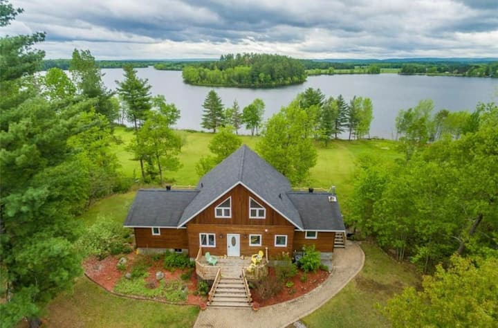 An oasis in Ottawa Valley by the Bonnechere River
