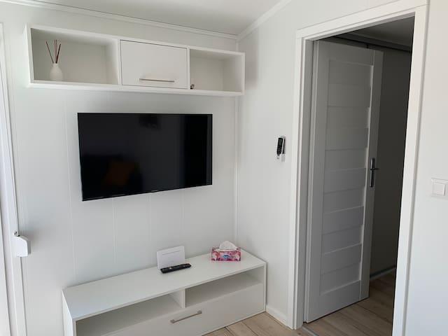 Smart TV z Wifi i netflix