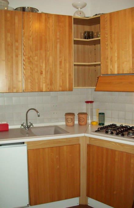 Udine Voll ausgestattete Küche - cucina