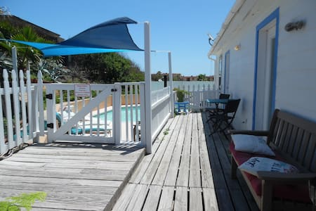 Cottage in the Dunes 1BR 1BA Work from the POOL!
