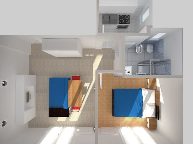 3d view of the apartment
