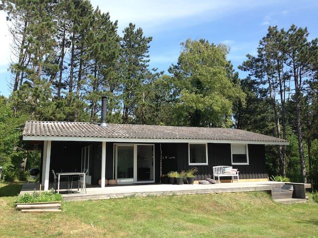 Simple Living Summerhouse + seaview - Knebel - Haus