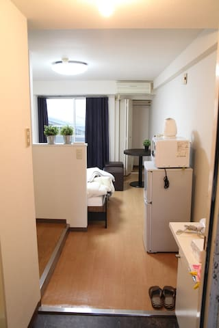 5 min walk Nakasu Subway station Free Pocket Wifi - Fukuoka-shi - Apartment