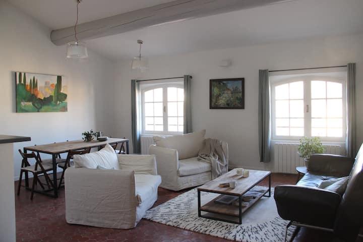 Duplex exceptionnel Cézanne, quartier Mazarin