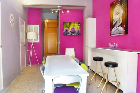 Lovely & colorful house with WIFI - Appartement