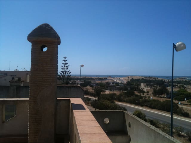 Roof top: best 360 degree views to beaches, river, lake, forest, fort, harbor, ....