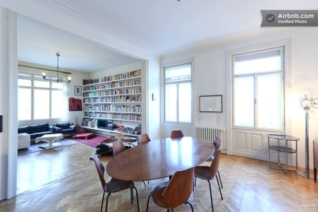SALON - Library & Living & Dining Room