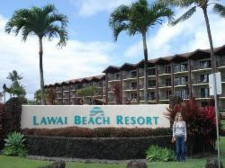 1 bedroom Lawai Beach Resort