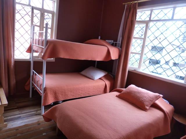dormitorio compartido femenino-La Mariscal
