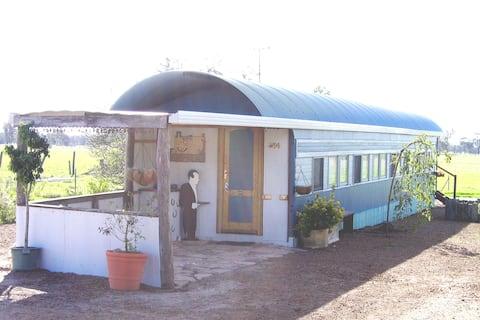 Railway Carriage Accommodation Unique & Quaint