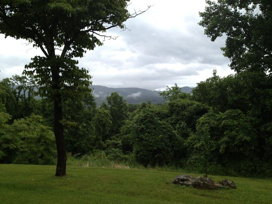 Iron Mountains view