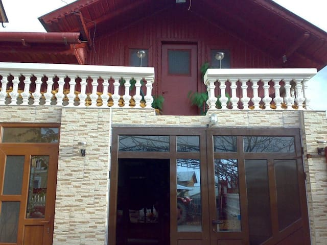 3 rooms in traditional house in agricultural area.