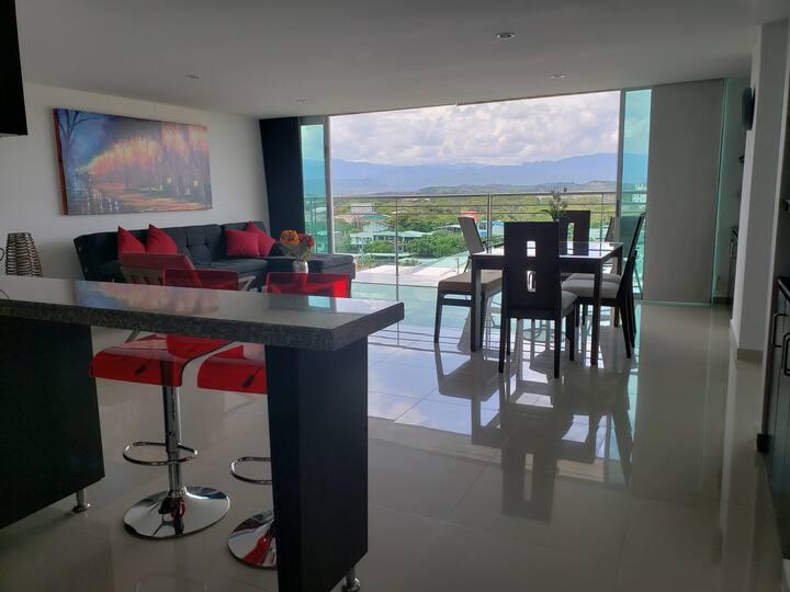 Espectacular apartamento y la mejor vista de Neiva