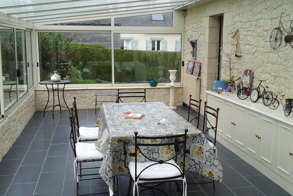 agreable veranda