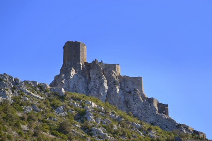 Calm, Comfort & Cathar Castles - Cucugnan - Appartement