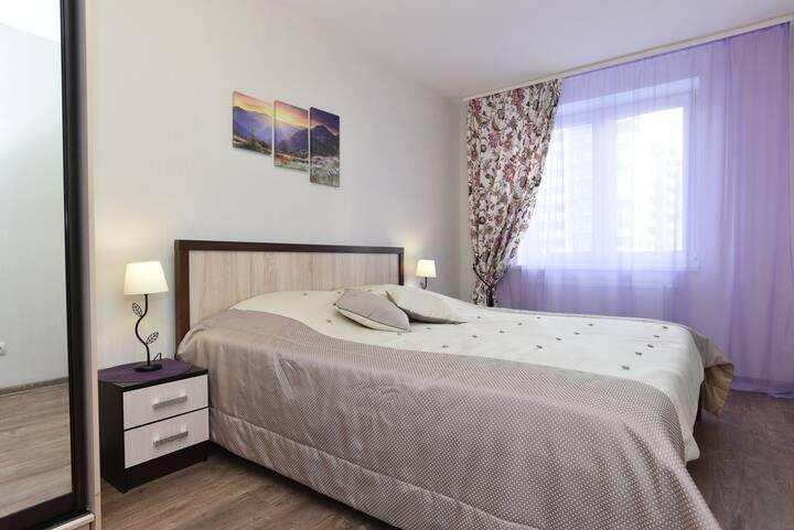 Уютная 2 квартира в центре города, в ЖК Мечта