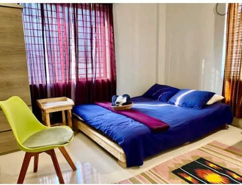 ✽Safe+Cozy Room+AC+WiFi near Airpor & Gulshan
