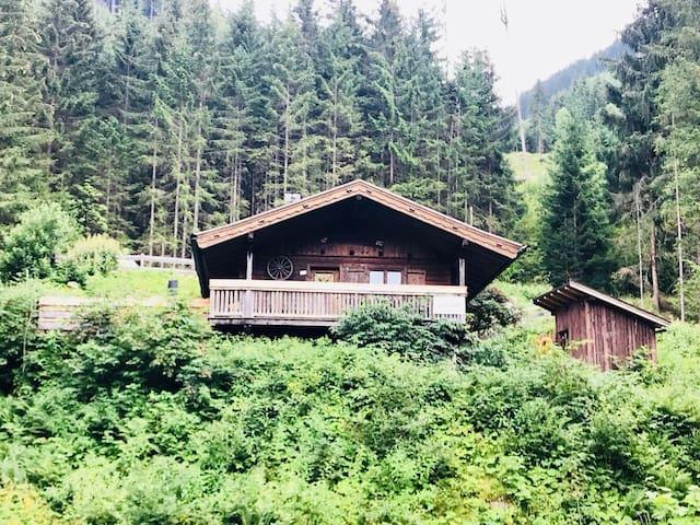 Wasserfallhütte Saalbach