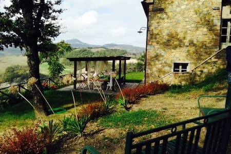 Toscana con panorama mozzafiato x6! - San Casciano dei Bagni - Σπίτι
