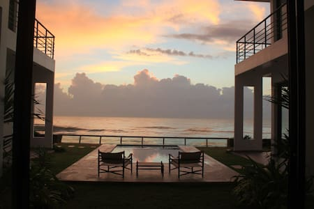 Stunning secluded beachfront villa with pool