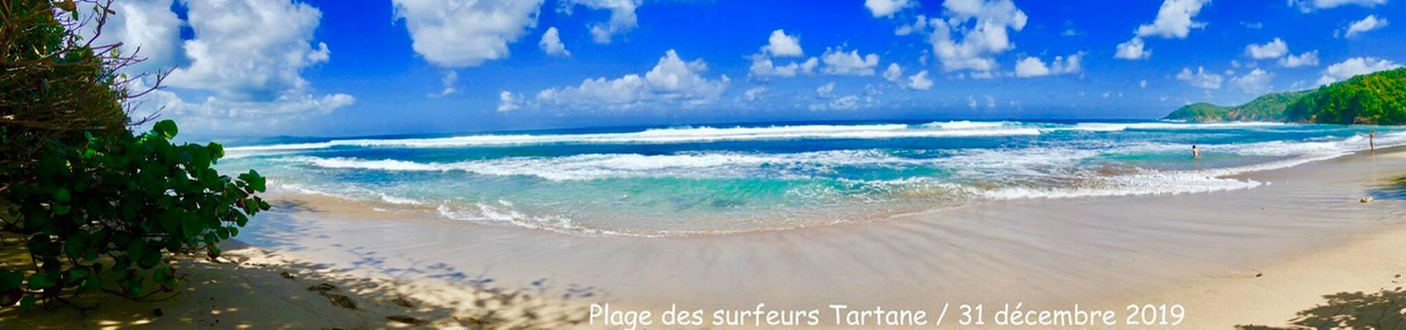 Villa plage des surfeurs