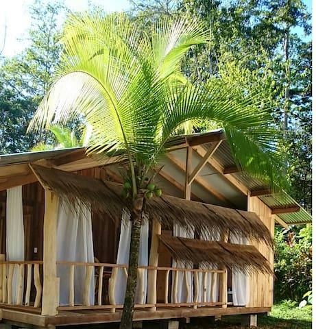 Rana de Cahuita - Casa Roja - 2p - Cahuita - บังกะโล