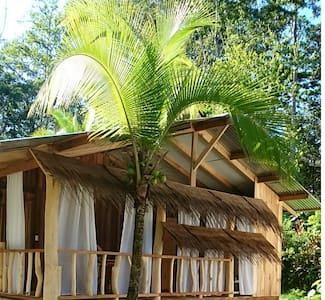 Rana de Cahuita - Casa Roja - 2p - Cahuita - Bungalow
