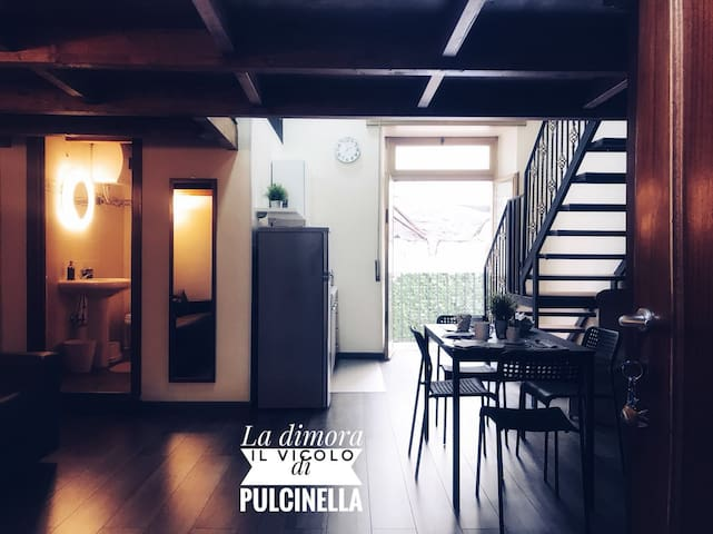 """DIMORA """"IL VICOLO DI PULCINELLA"""""""
